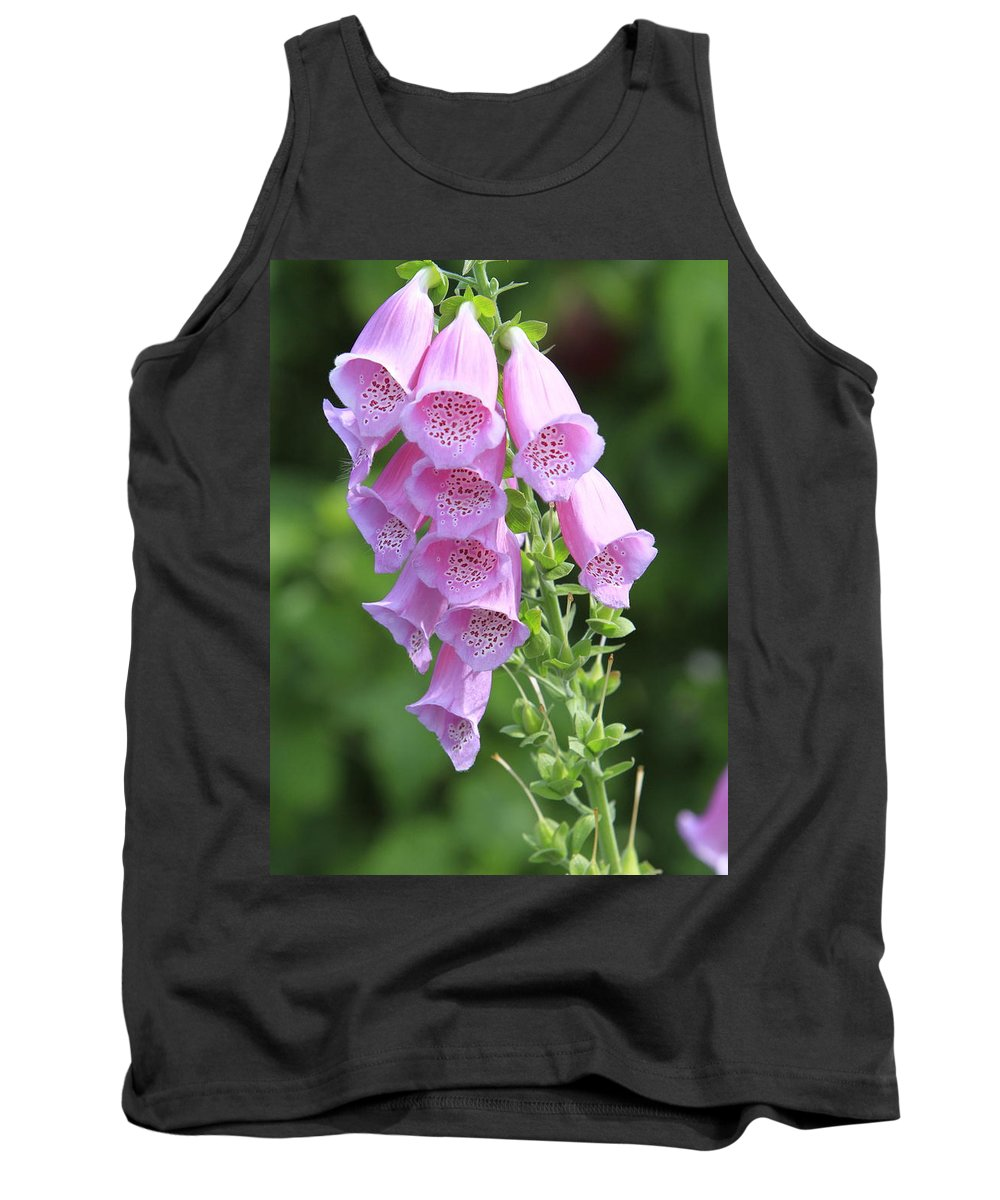 Fox Glove Tank Top featuring the photograph Fox Glove In Bloom by Shoal Hollingsworth