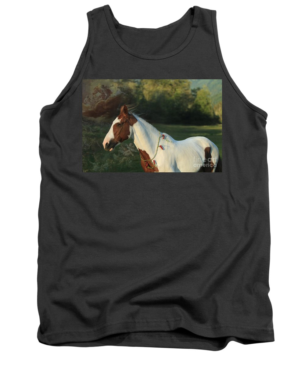 Paint Tank Top featuring the digital art Free To Dream by Michelle Twohig