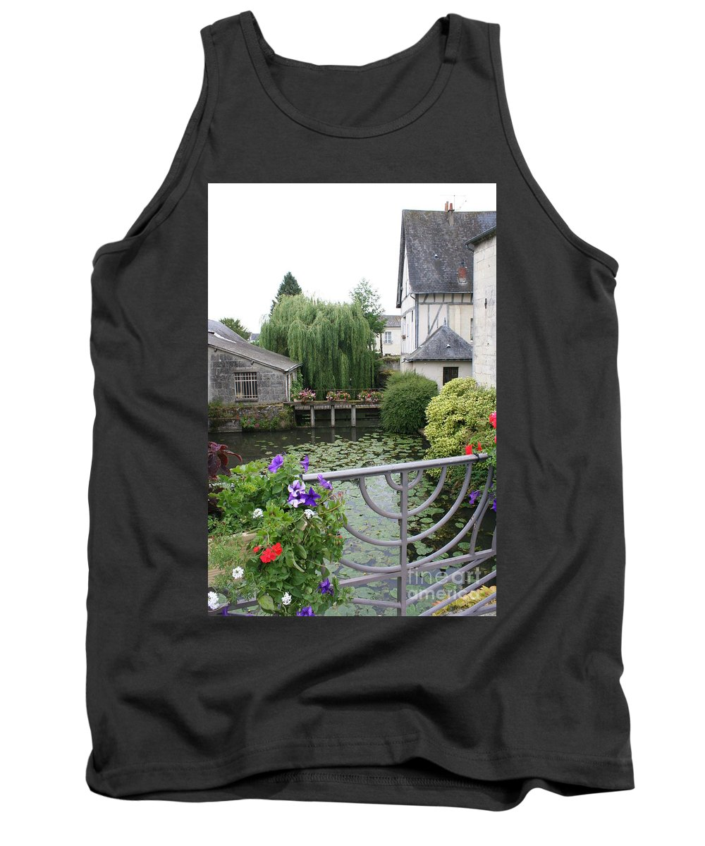 Village Tank Top featuring the photograph French Village by Christiane Schulze Art And Photography
