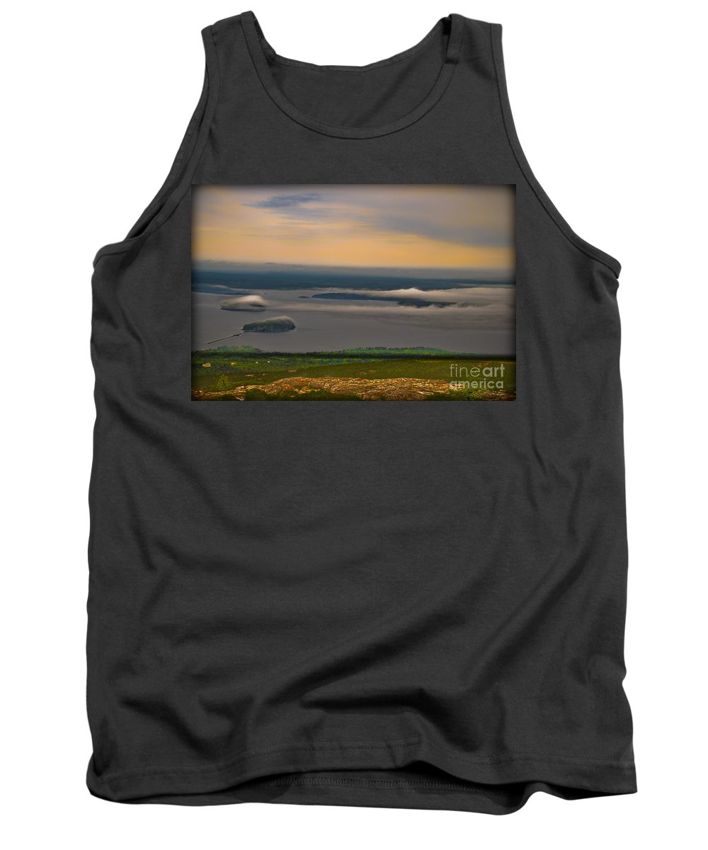 Maine Tank Top featuring the photograph Frenchman Bay And The Porcupine Islands by Gary Keesler