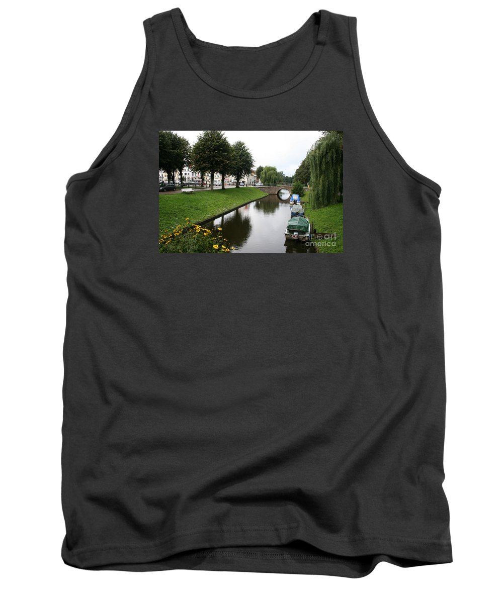 Town Canal Tank Top featuring the photograph Friedrichstadt - Germany by Christiane Schulze Art And Photography