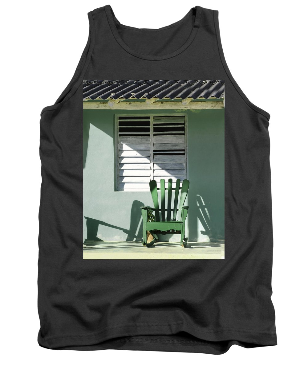 Antique Tank Top featuring the photograph Front Row Seat.. by A Rey