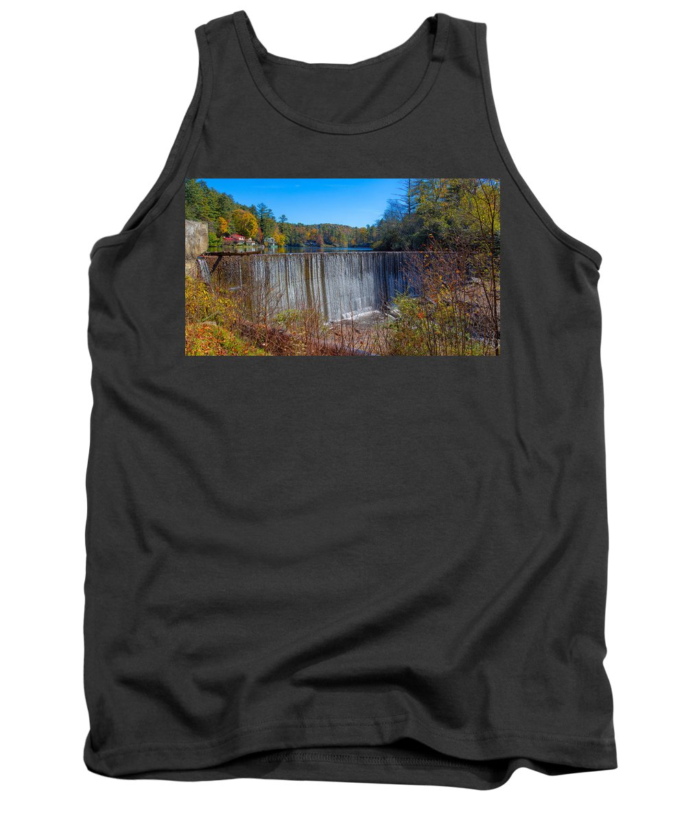 Landscape Tank Top featuring the photograph Full To Overflowing by John M Bailey