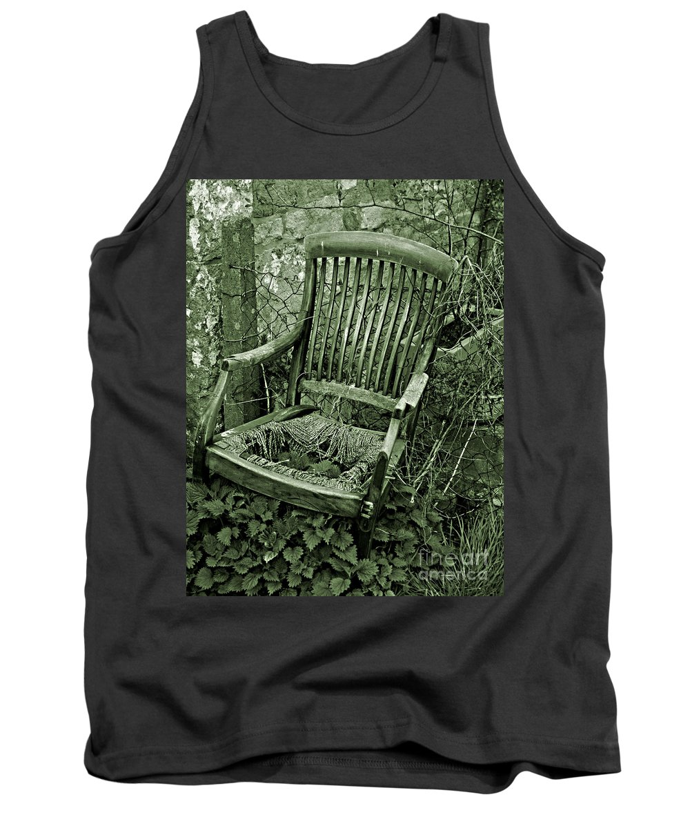 Old Tank Top featuring the photograph Furniture by Brian Raggatt