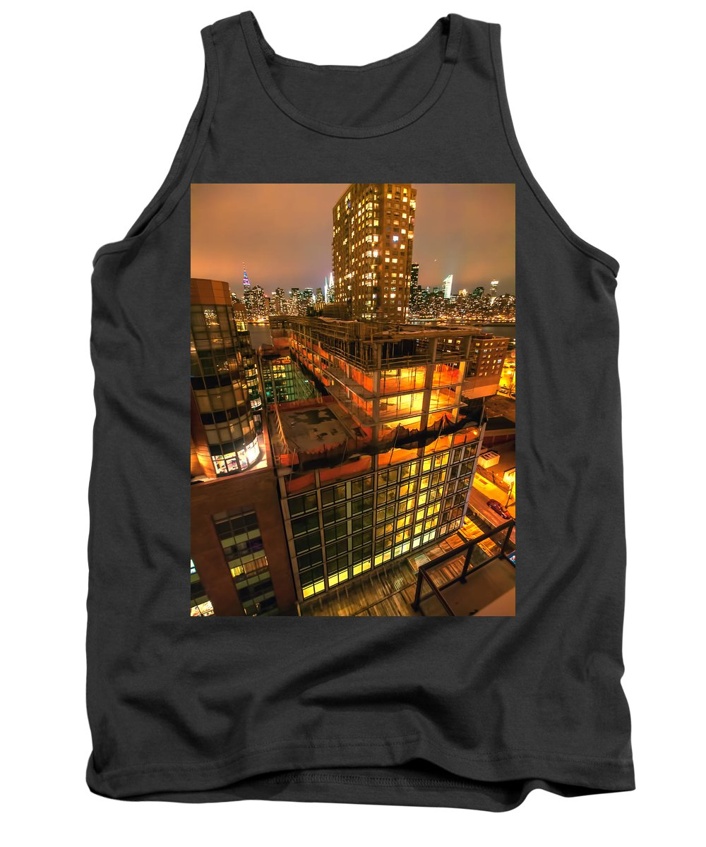 Tank Top featuring the photograph Future Views by Steve Sahm