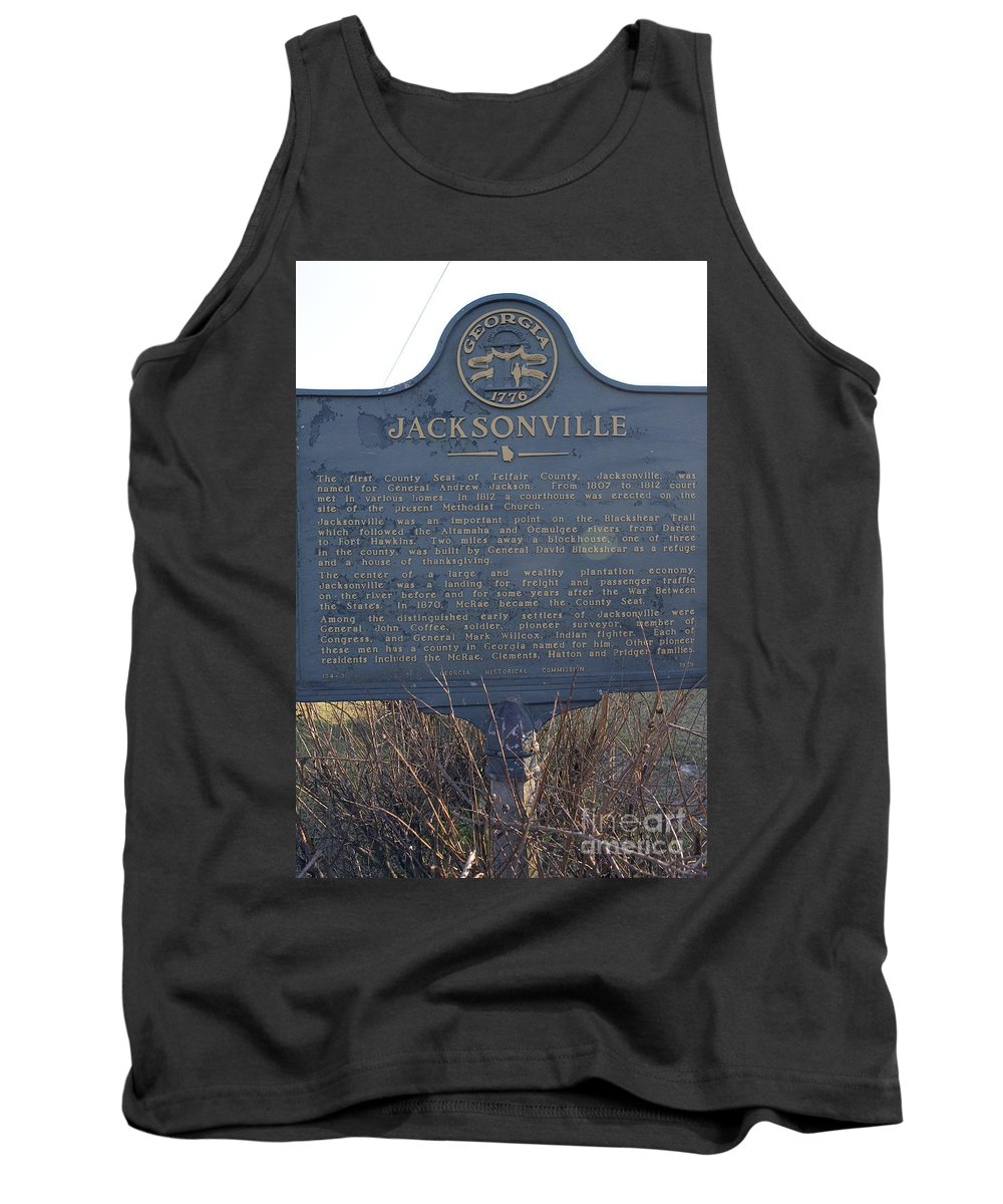 Travel Tank Top featuring the photograph Ga-114-3 Jacksonville by Jason O Watson