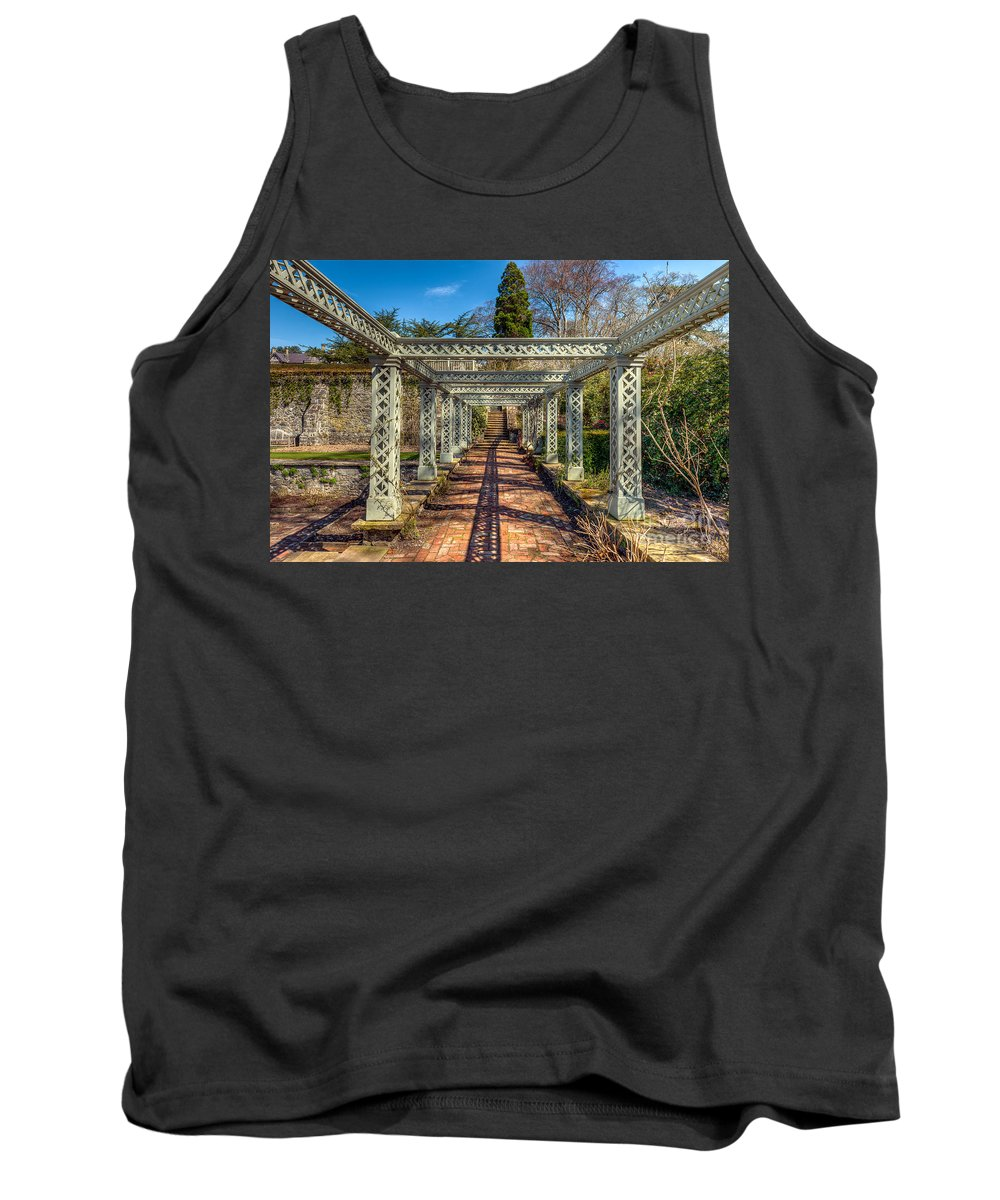 1792 Tank Top featuring the photograph Garden Path by Adrian Evans