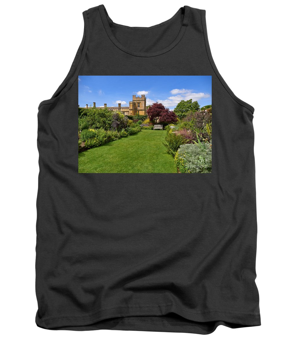 Secret Garden Tank Top featuring the photograph Gardens Of Sudeley Castle In The Cotswolds by Louise Heusinkveld
