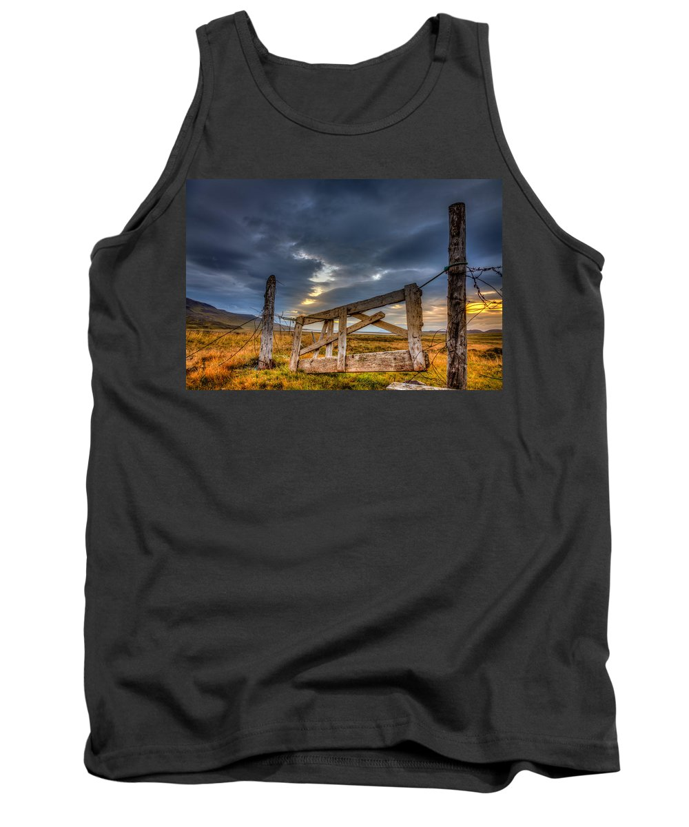Europe Tank Top featuring the photograph Gate To... by Alexey Stiop