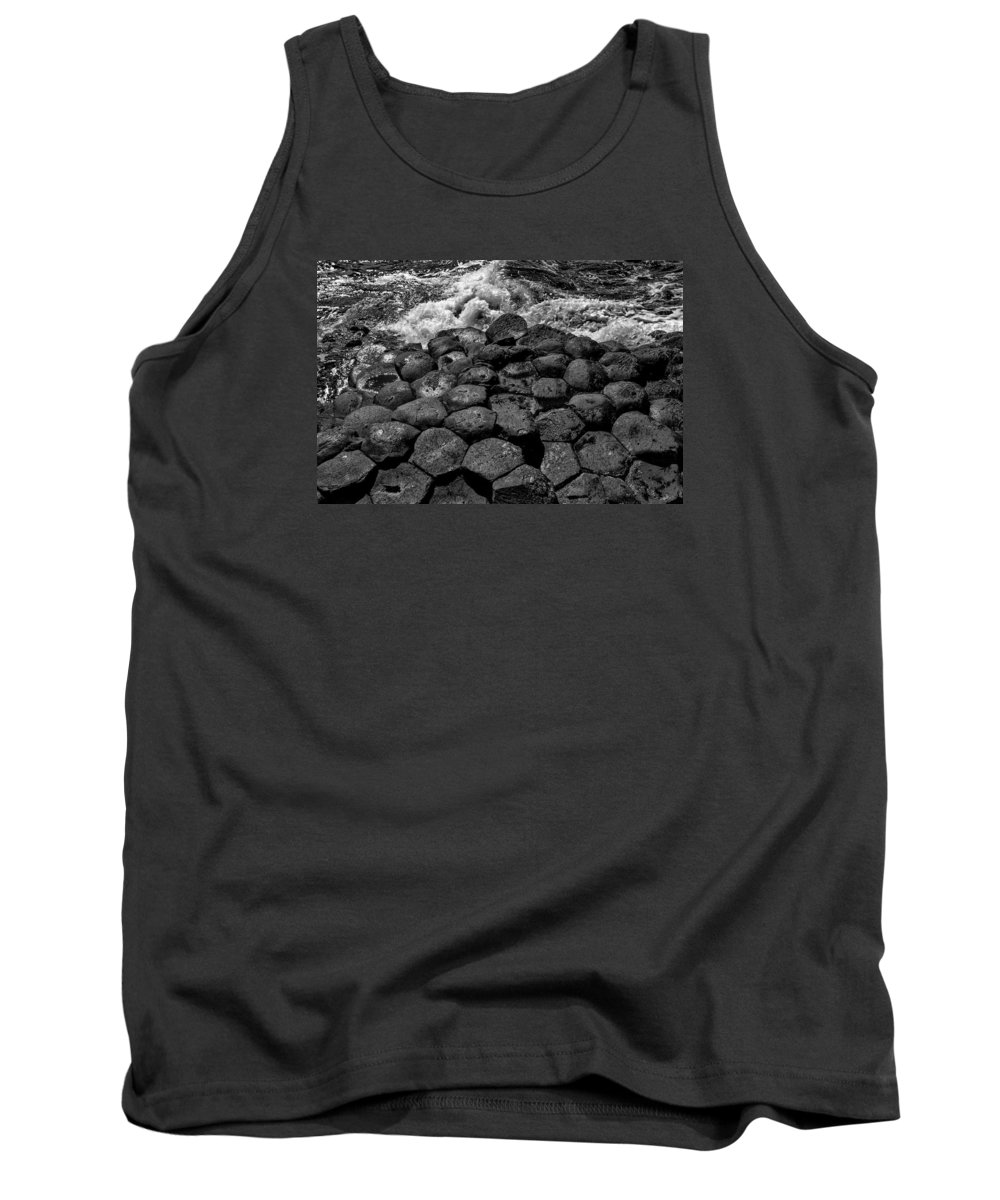 Giants Causeway Tank Top featuring the photograph Giants Causeway 1 by Nigel R Bell