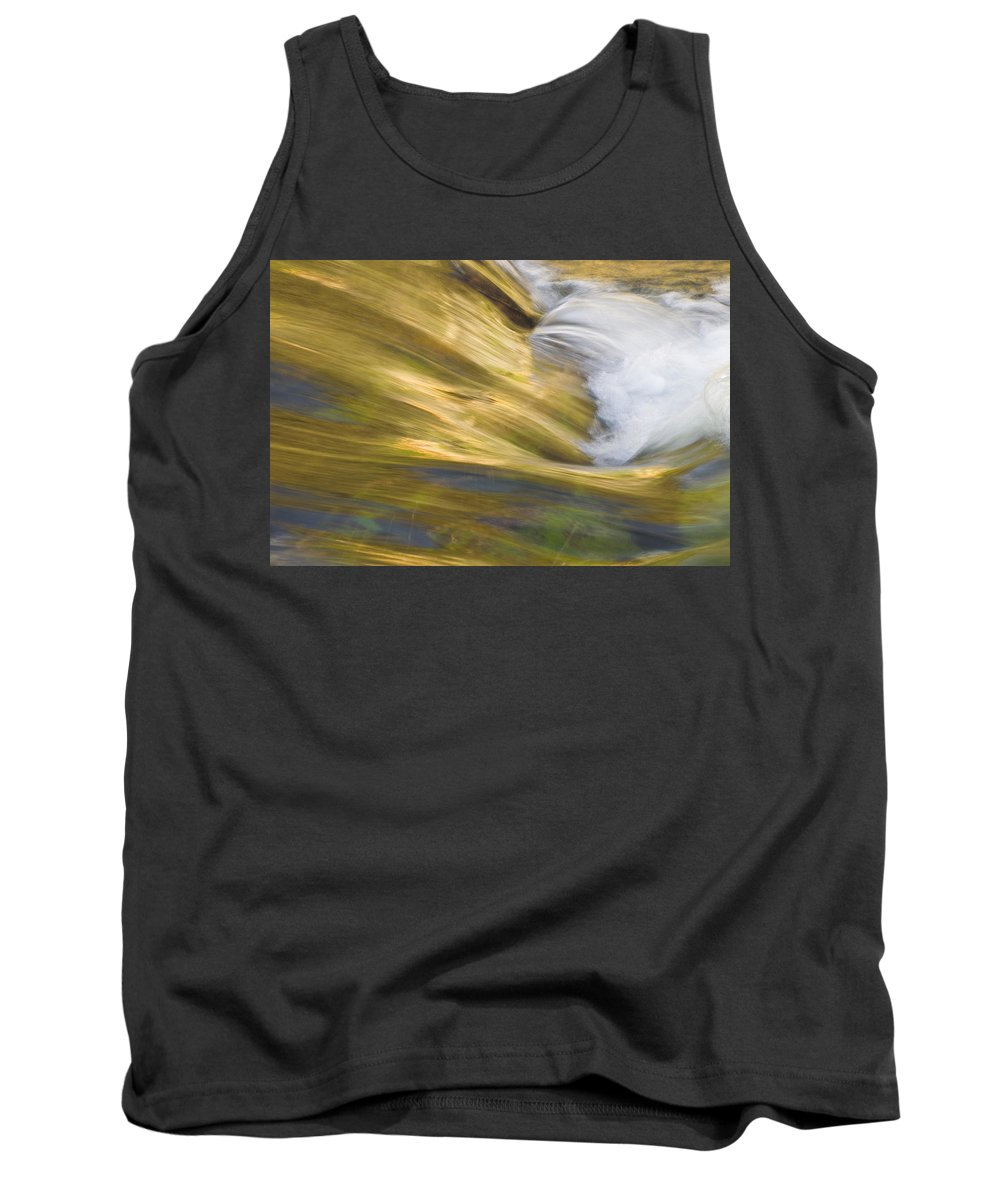 Glacier National Park Tank Top featuring the photograph Glacier Stream Glacier National Park by Rich Franco