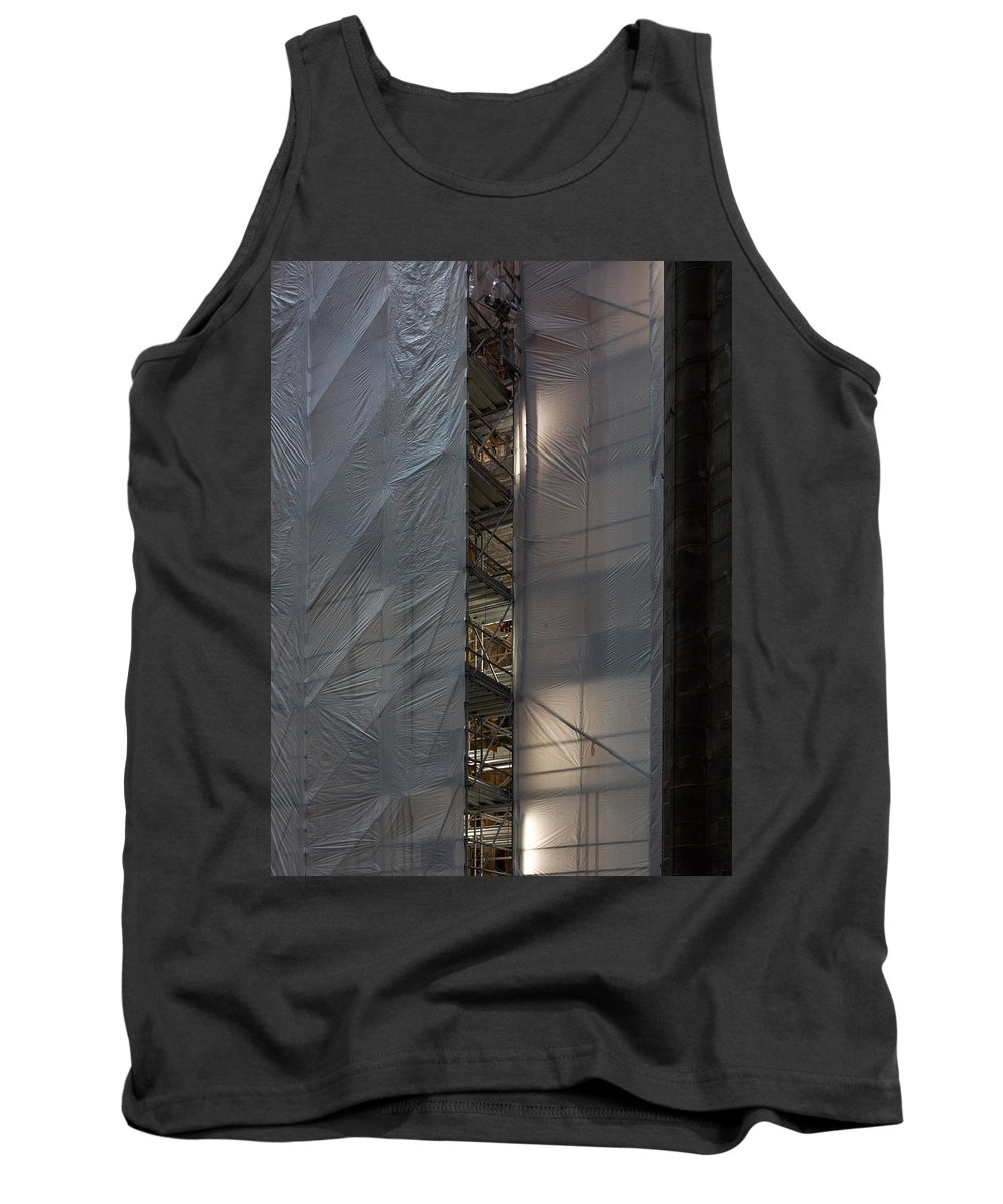 Francacorta Tank Top featuring the photograph Gods Works Are Secret. Duomo. Milano Milan by Jouko Lehto