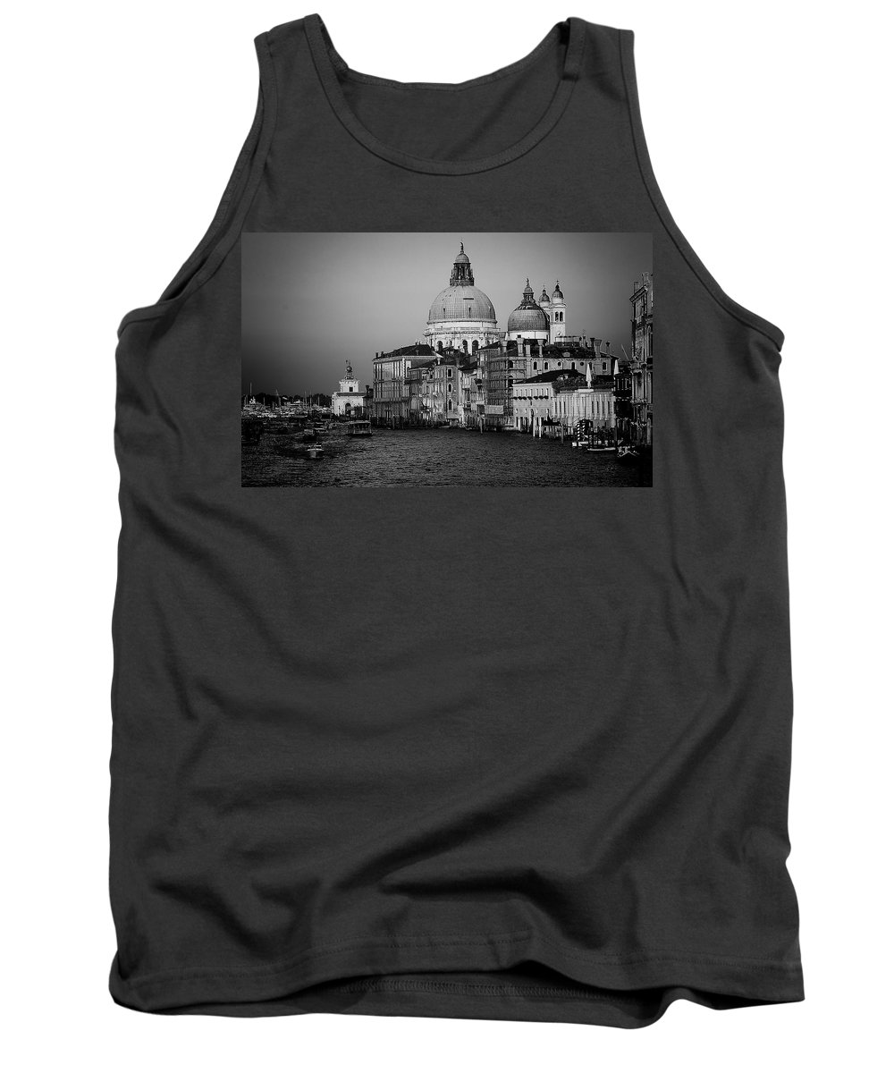 Venice Tank Top featuring the photograph Gran Canal Venive by David Resnikoff