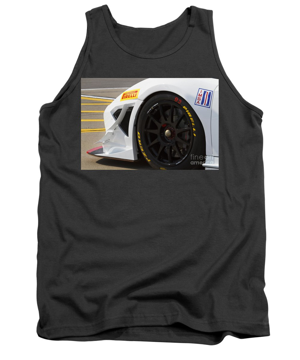 Grand Am Tank Top featuring the photograph Grand Am Lamborghini by Dennis Hedberg