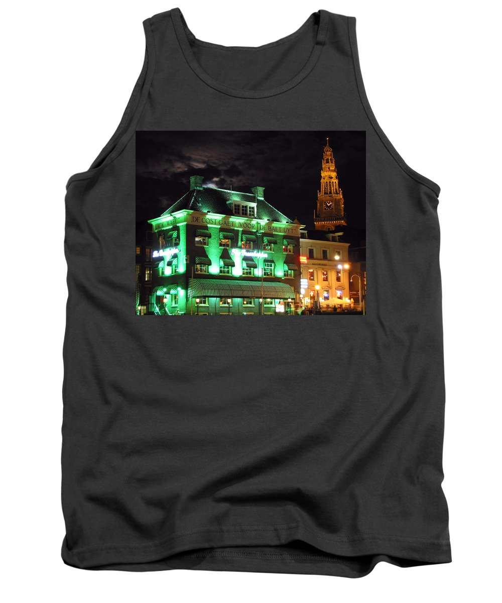 3scape Tank Top featuring the photograph Grasshopper Bar by Adam Romanowicz