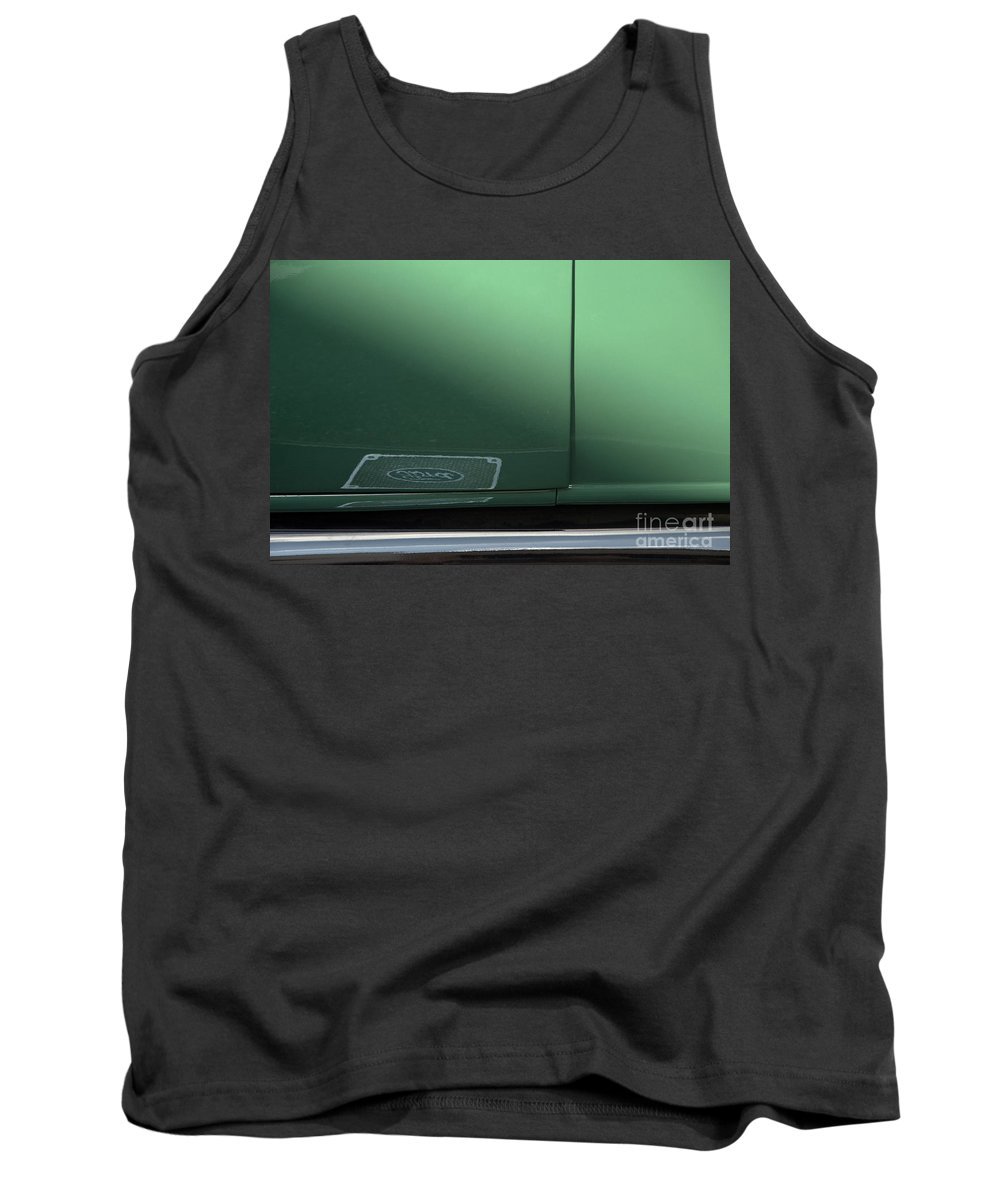 1932 Ford Coupe Tank Top featuring the photograph Green Ford by Roy Thoman