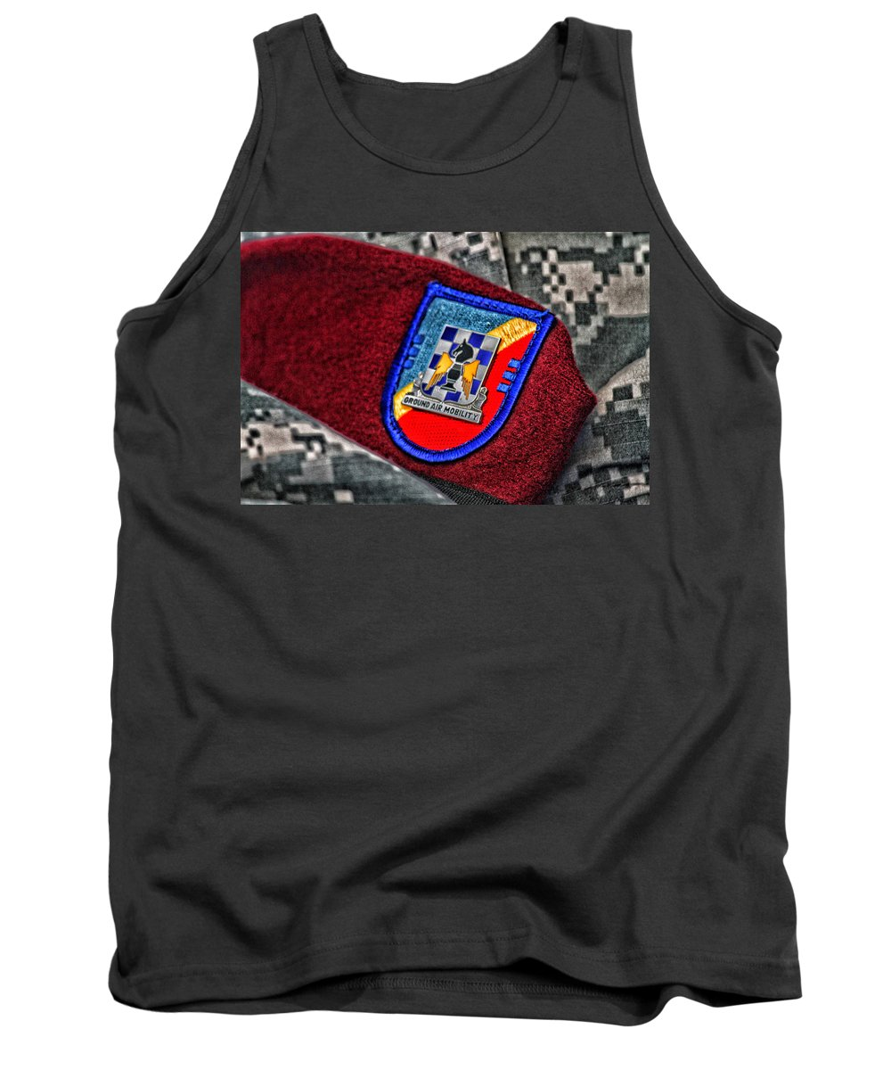 Ground Air Mobility Tank Top featuring the photograph Ground Air Mobility by Karol Livote