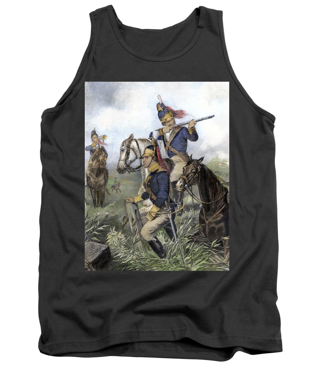 1781 Tank Top featuring the photograph Guilford Courthouse, 1781 by Granger