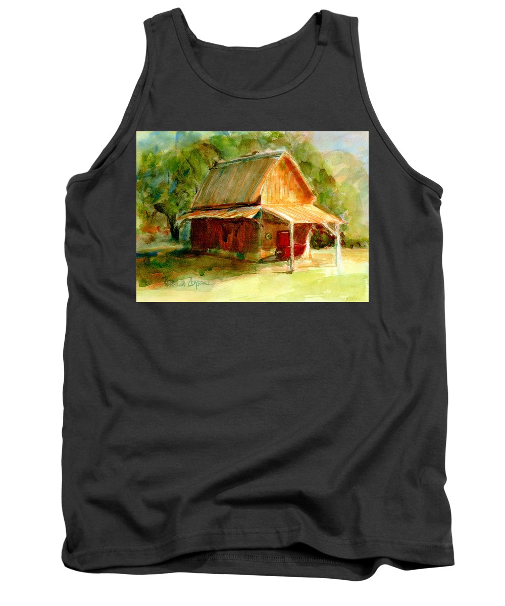 Landscape Tank Top featuring the painting Harbinger Of History by Rebecca Zdybel