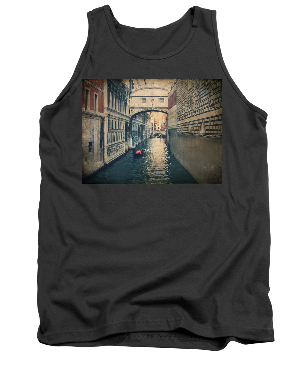 Venice Tank Top featuring the photograph Hear The Sighs by Laurie Search