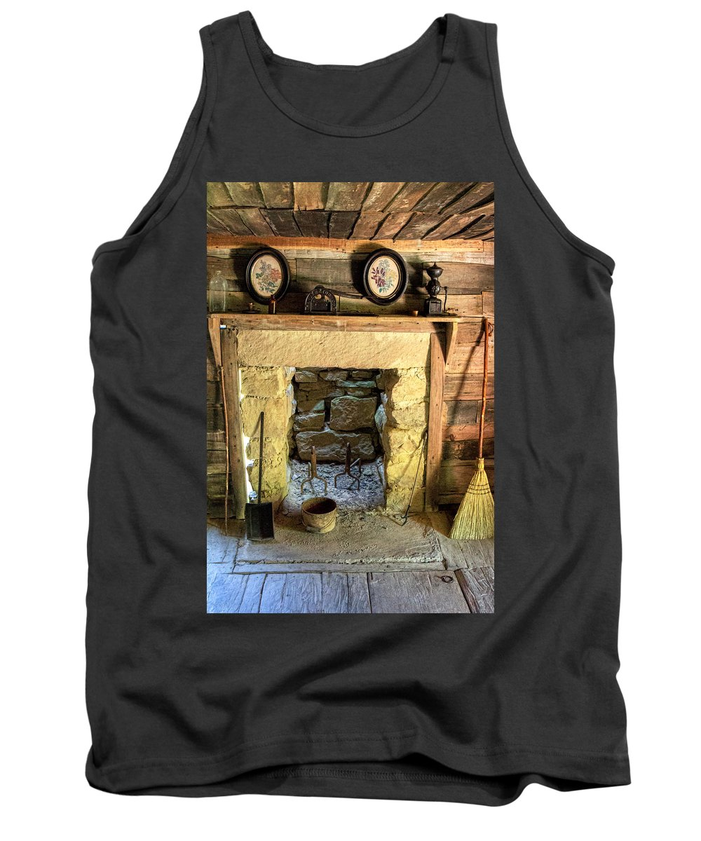 Cumberland Gap National Historical Park Tank Top featuring the photograph Hearth And Home by Mary Almond