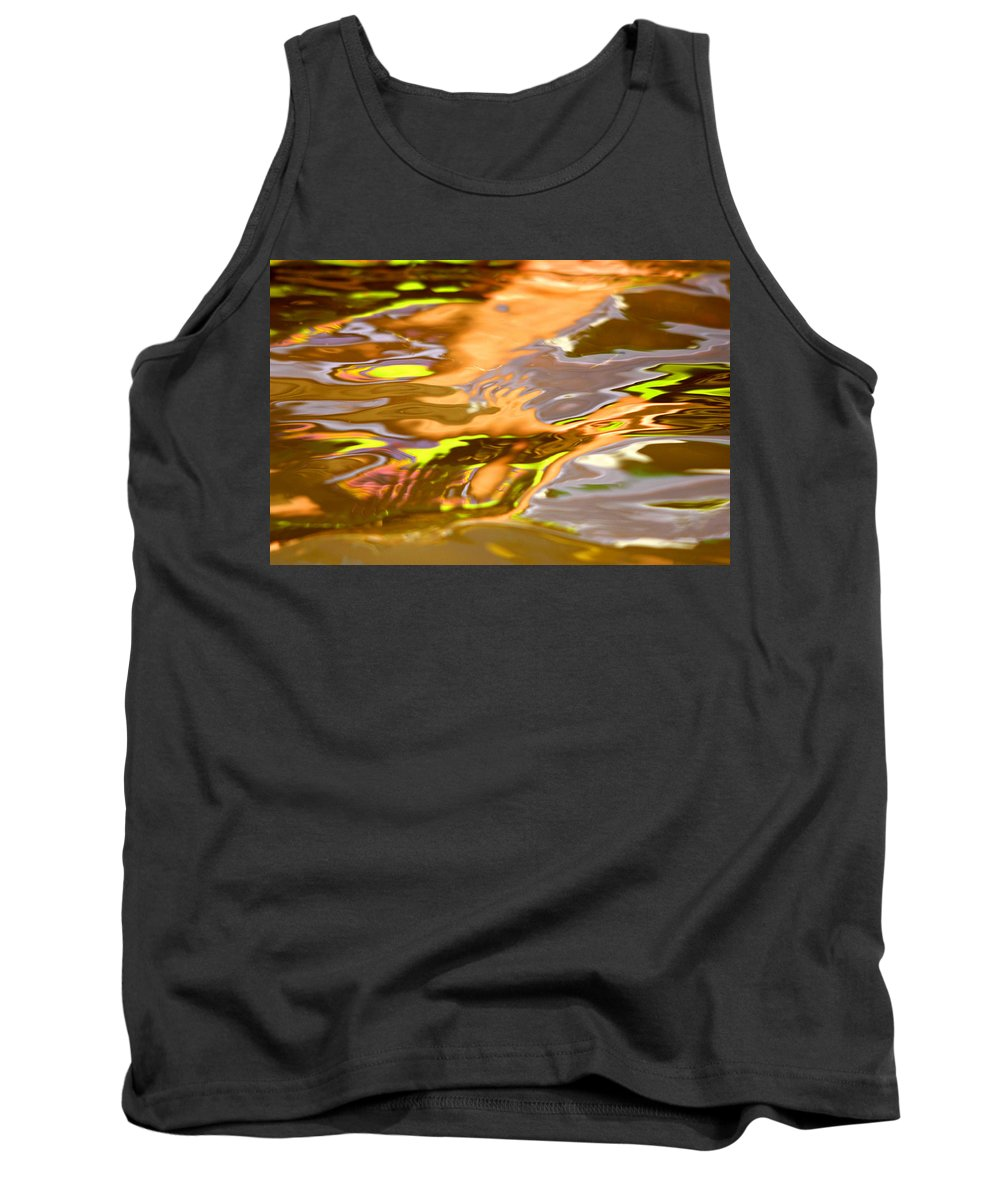 Lake Tank Top featuring the photograph Helping Hands by Donna Blackhall