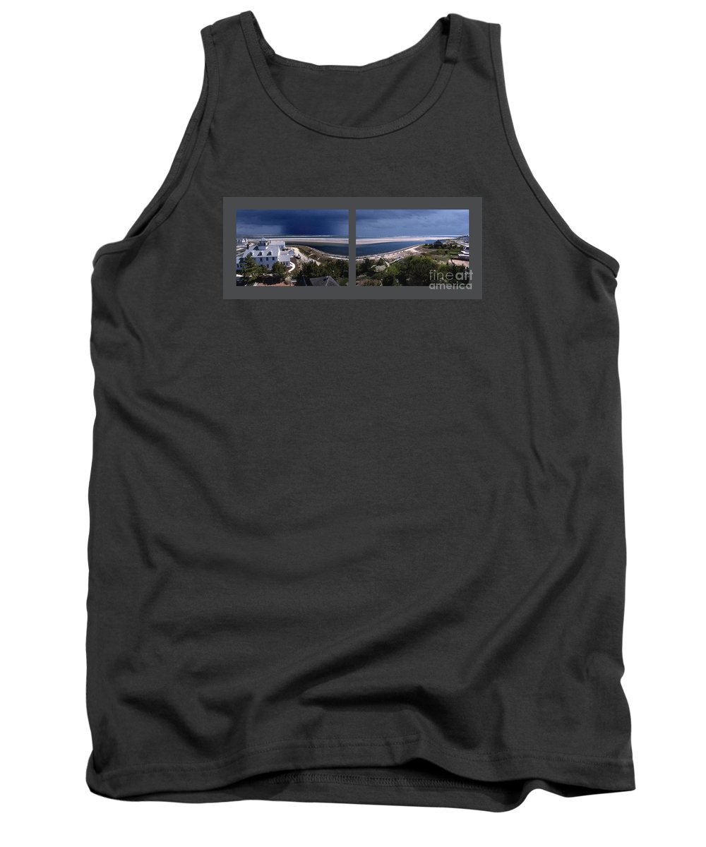 Maritime Tank Top featuring the photograph Hereford Inlet by Skip Willits