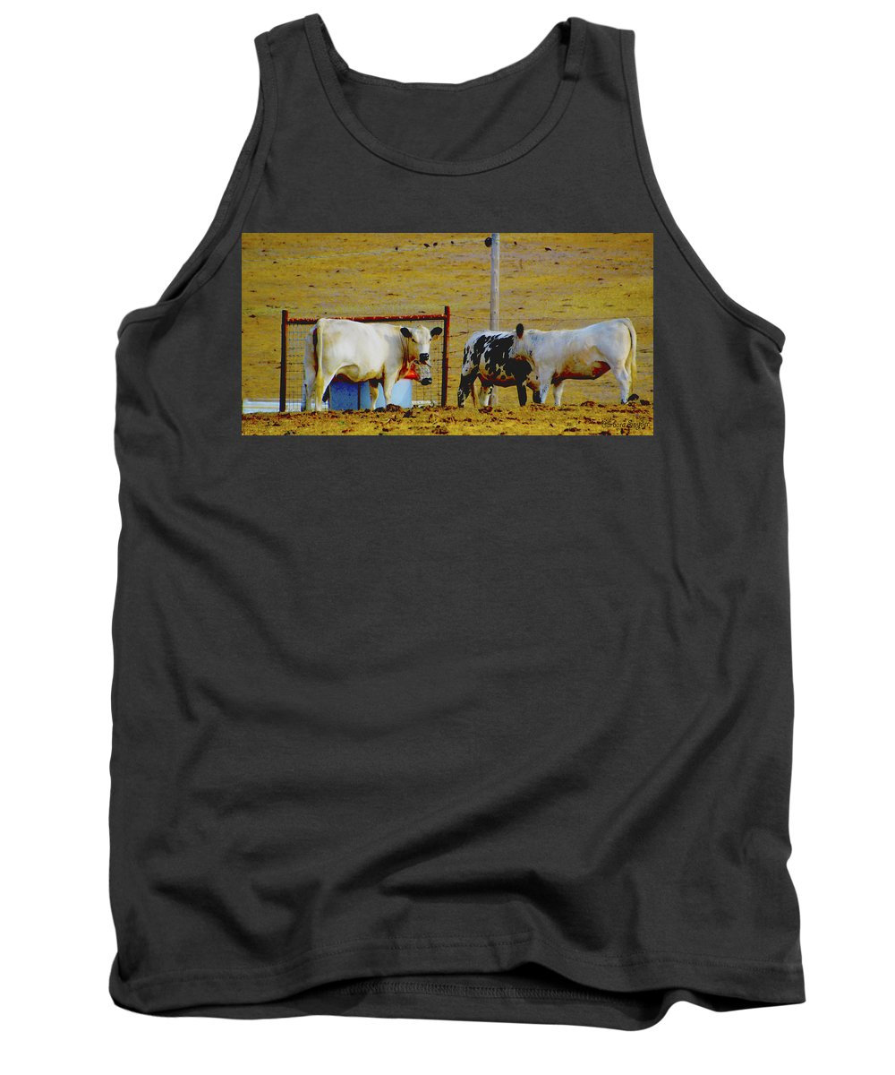 Hey Look At The Stupid Tourist Tank Top featuring the photograph Hey Look At The Stupid Tourist by Barbara Snyder