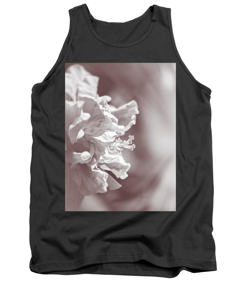 Hibiscus Tank Top featuring the photograph Hibiscus In Sunlight by Carolyn Marshall