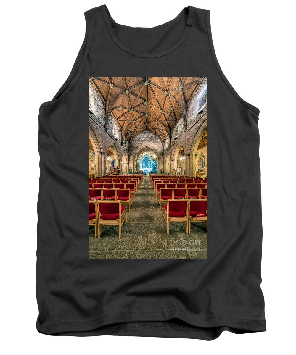 Cathedral Tank Top featuring the photograph Hidden Gem by Adrian Evans