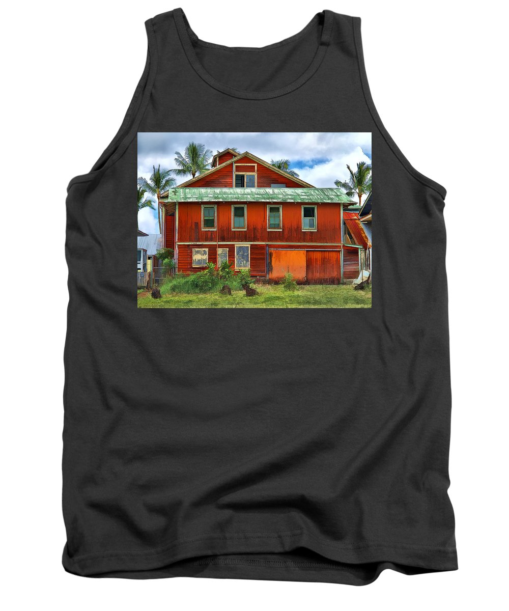 Dan Sabin Tank Top featuring the photograph Hilo Town House by Dan Sabin