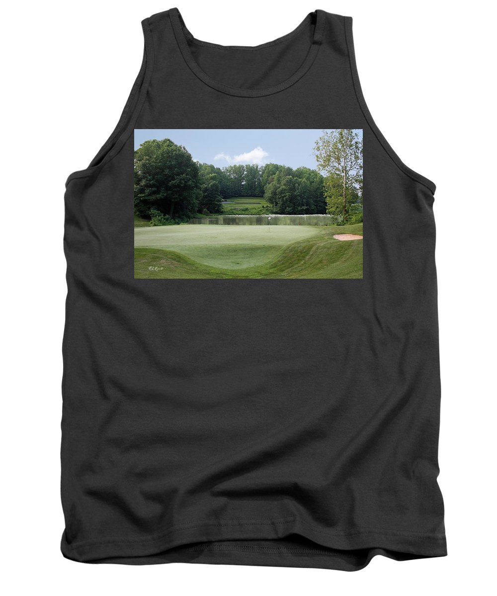 Maryland Tank Top featuring the photograph Hobbits Glen - Signature 11th Hole by Ronald Reid
