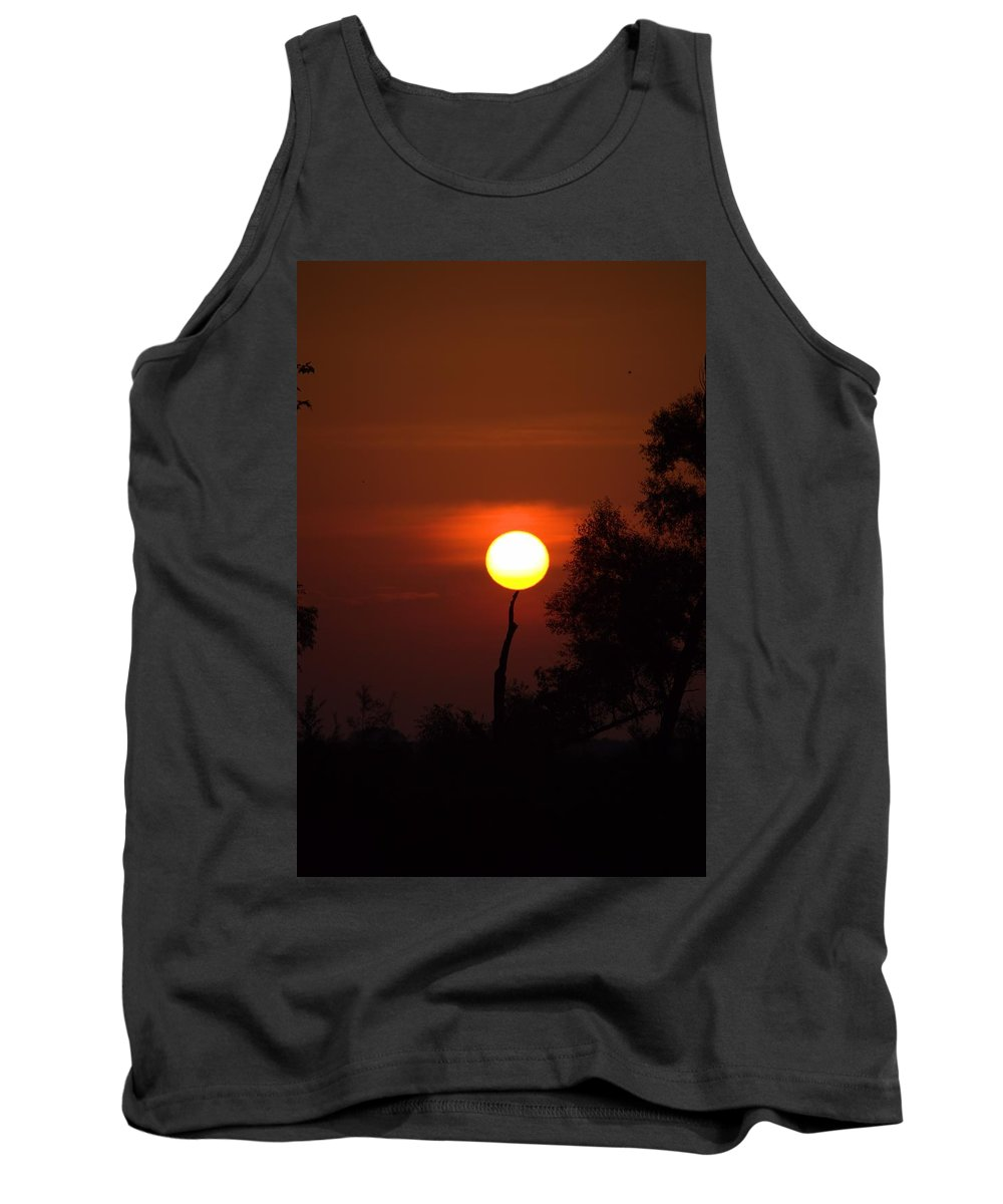 Sun Tank Top featuring the photograph Holding Up The Sun by Bonfire Photography