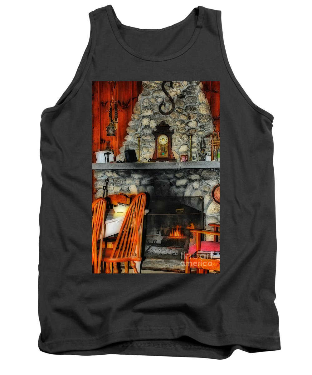 Scenic Tours Tank Top featuring the photograph Home Sweet Home by Skip Willits