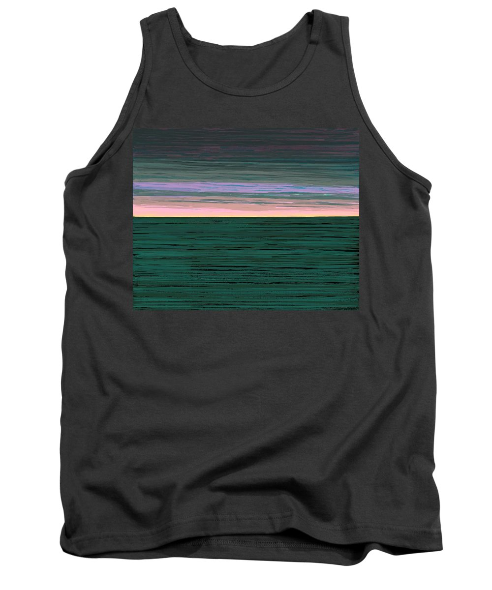 Fineartamerica.com Tank Top featuring the painting Horizon  Number 1 by Diane Strain