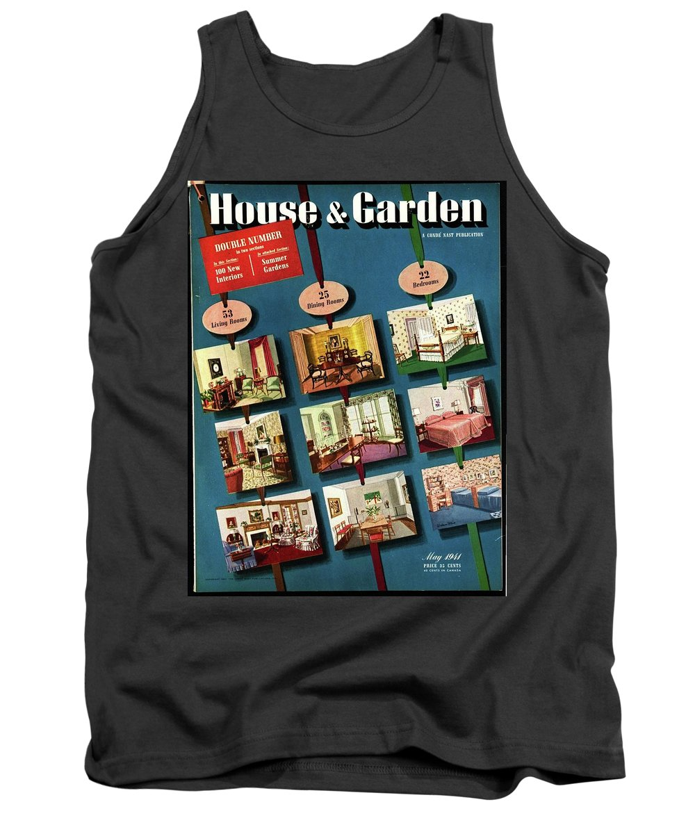 House And Garden Tank Top featuring the photograph House And Garden Cover by Urban Weis