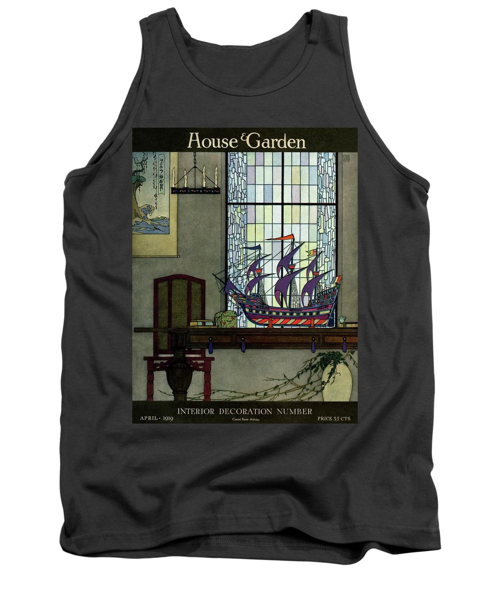 House And Garden Tank Top featuring the photograph House And Garden by Harry Richardson