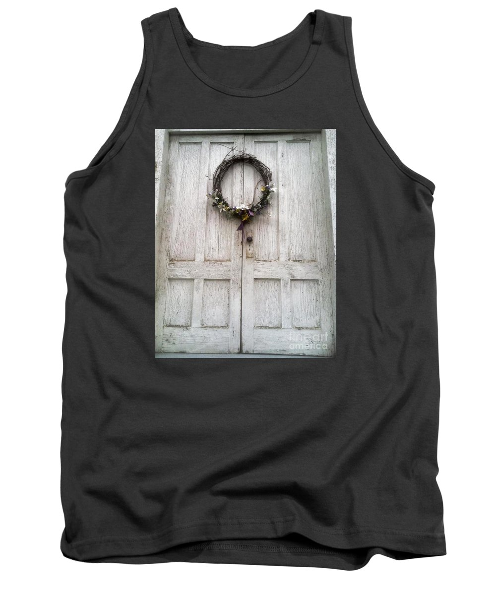 Country Tank Top featuring the photograph Humility by Barbara Chase