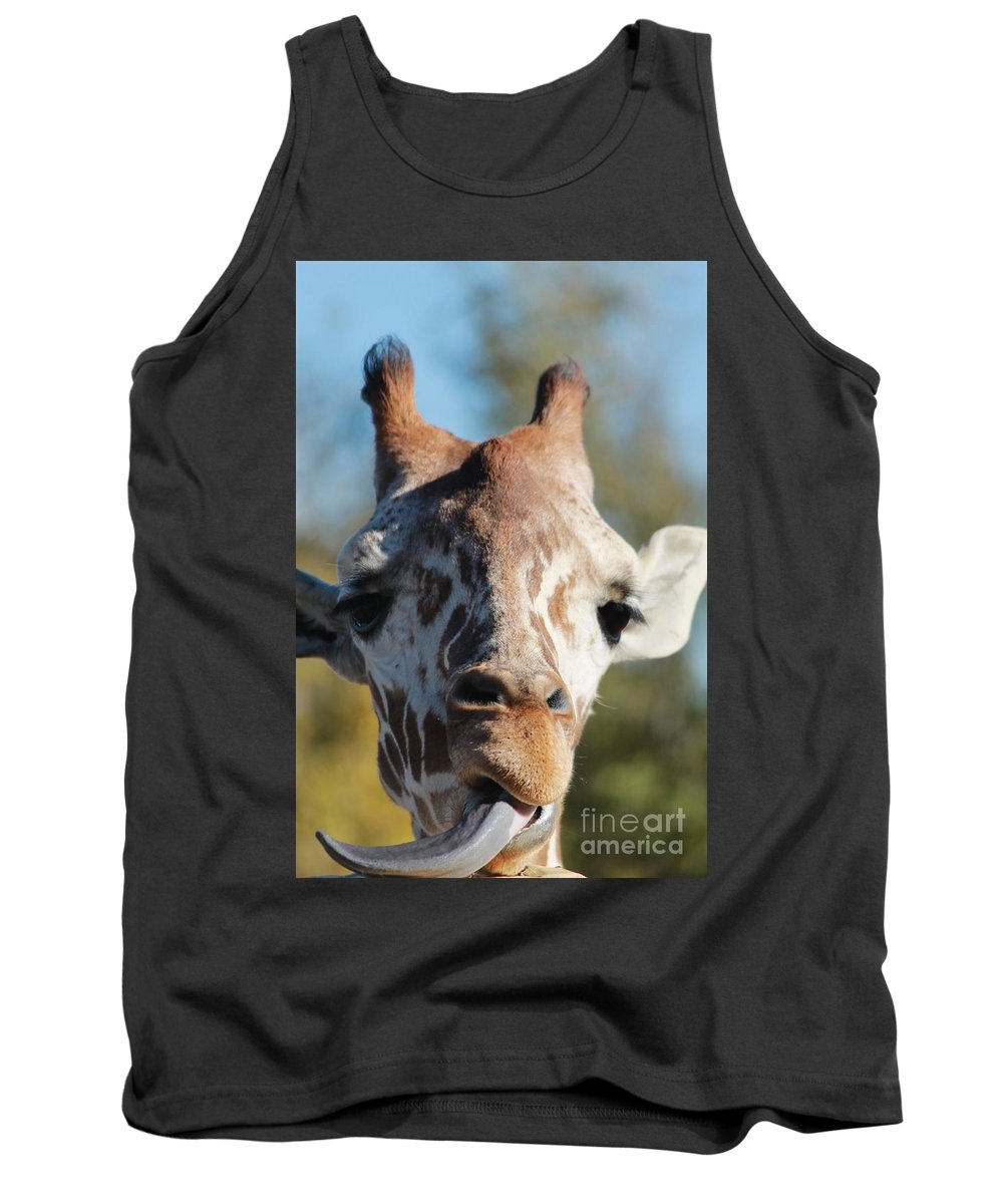 Zoo Tank Top featuring the photograph Hungry by Tonya Hance