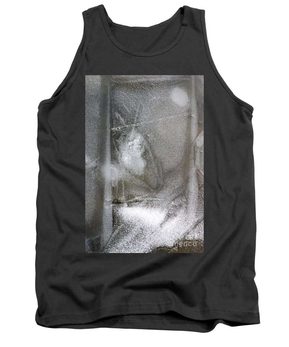 Ice Tank Top featuring the photograph Ice 4 by Steven Ralser