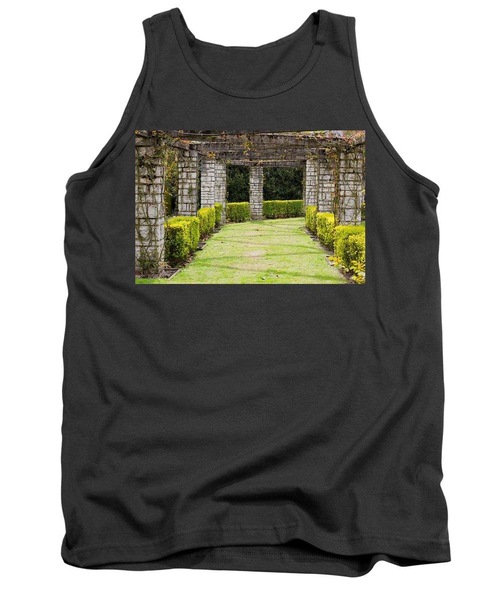 Garden Tank Top featuring the photograph Idyllic Garden by Pati Photography