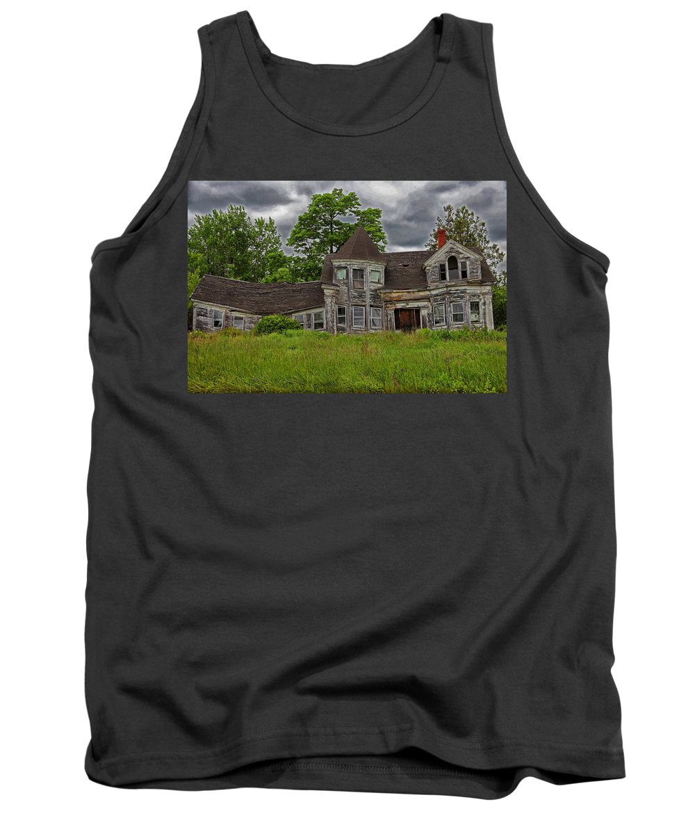 House Tank Top featuring the photograph If Walls Could Talk by Karol Livote