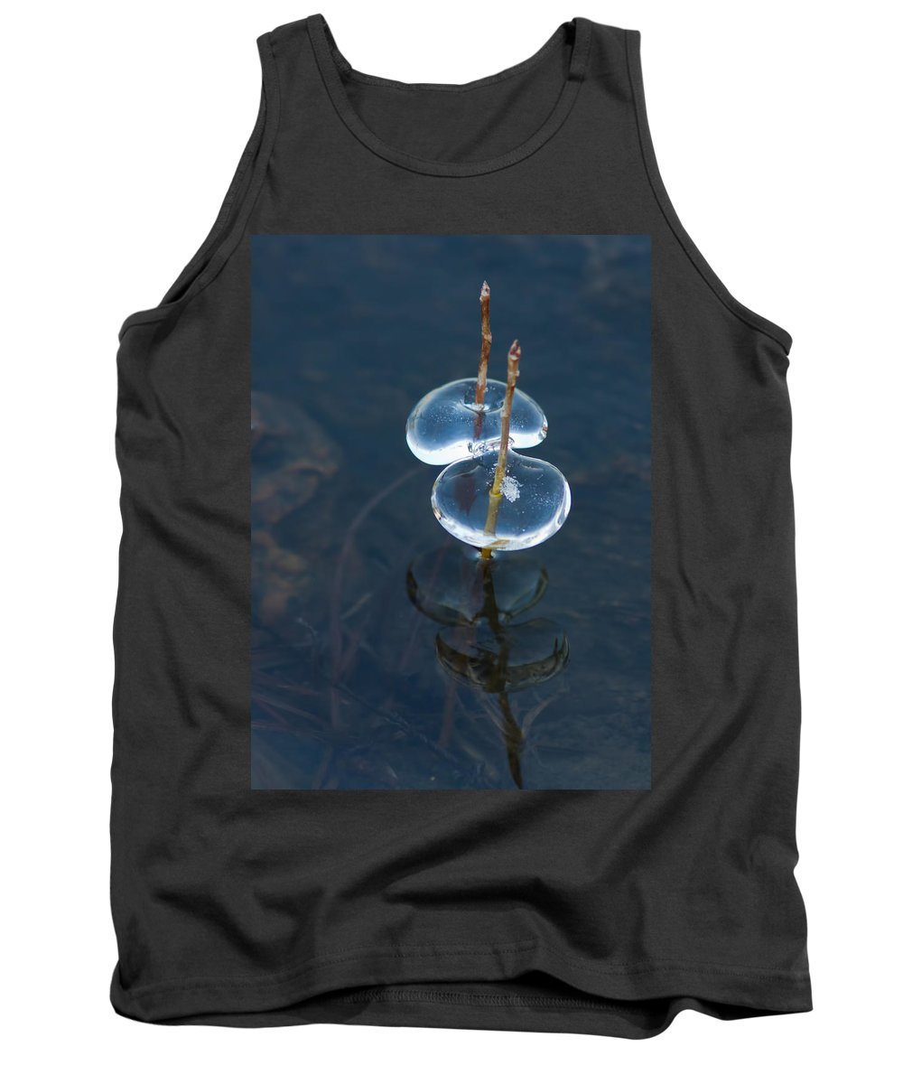 Ice Tank Top featuring the photograph ii by Mircea Costina Photography