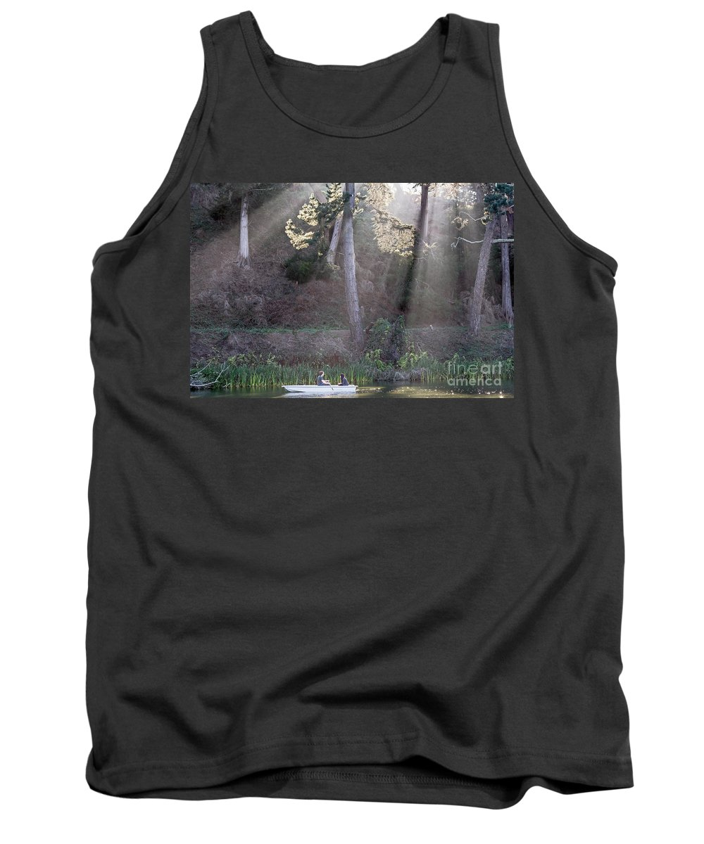 Boating Tank Top featuring the photograph Illumination by Kate Brown