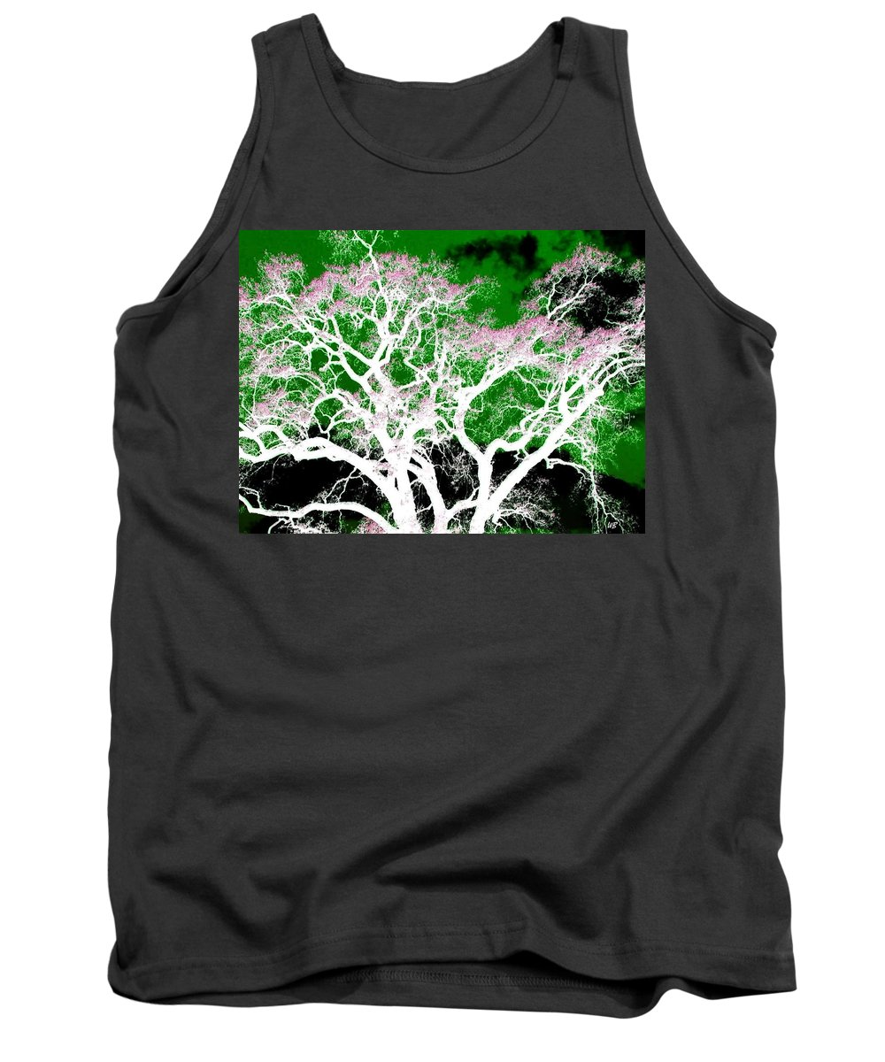Impressions Tank Top featuring the digital art Impressions 1 by Will Borden