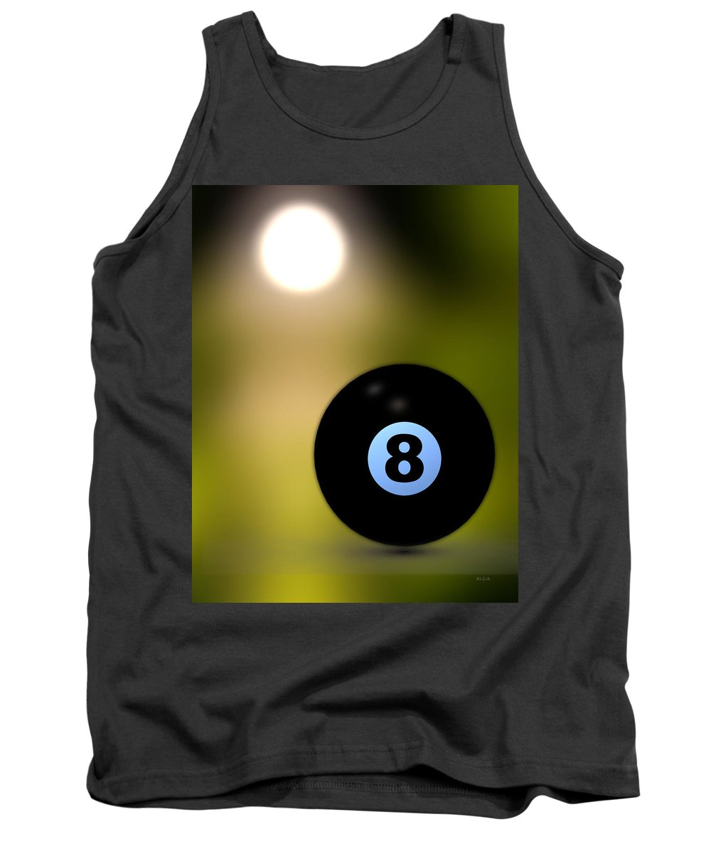 8 Ball Tank Top featuring the photograph In Front Of The Eight Ball by Bob Orsillo