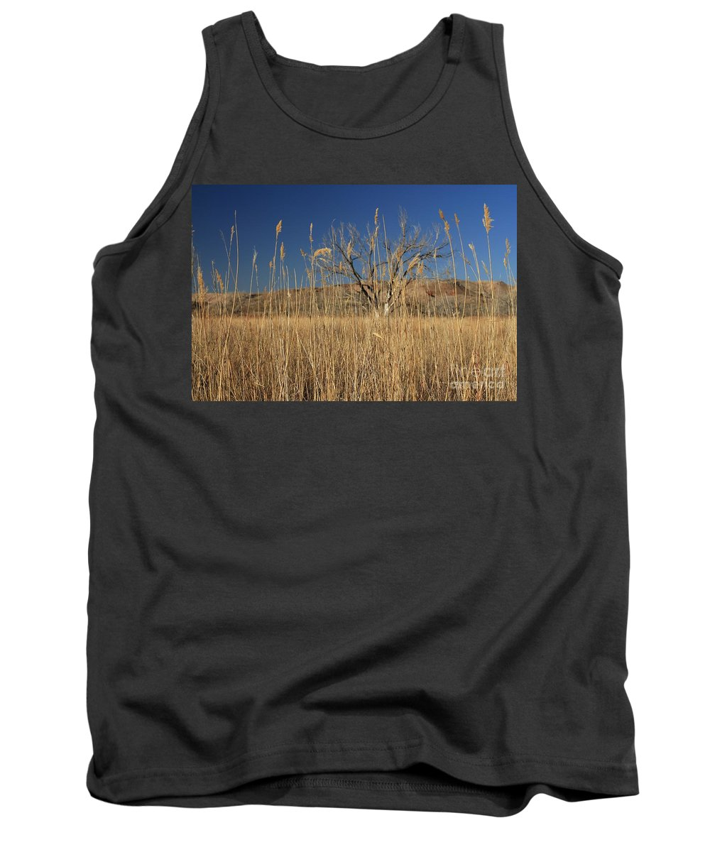 Texas Tank Top featuring the photograph In The Grass by Ashley M Conger