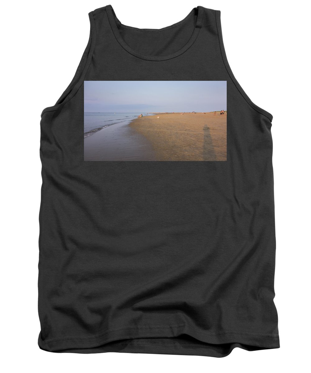 Ipswich Tank Top featuring the photograph In The Time Of The Long Shadows by David Stone