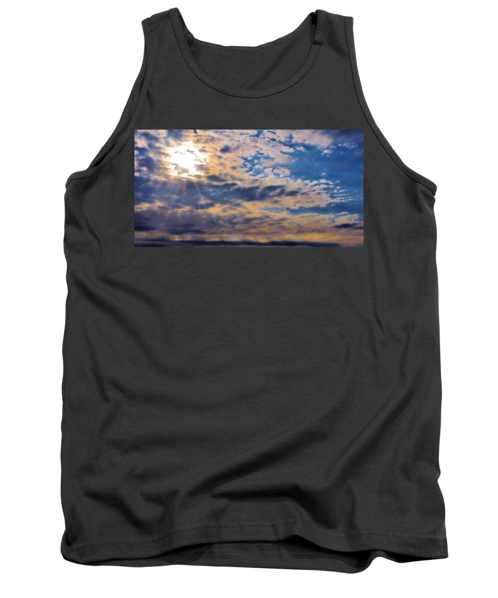 Michelle Tank Top featuring the photograph Indiana Sky by Michelle McPhillips