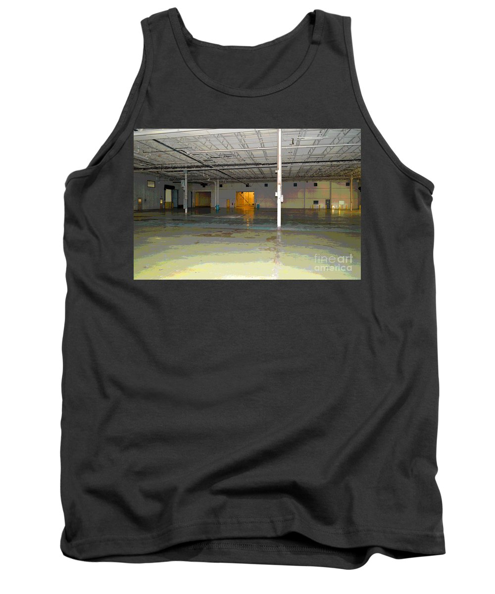 Industrial Tank Top featuring the photograph Industrial 4 by Alys Caviness-Gober